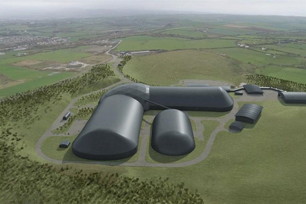 An artist's impression of the mine, image copyright: West Cumbria Mining Company