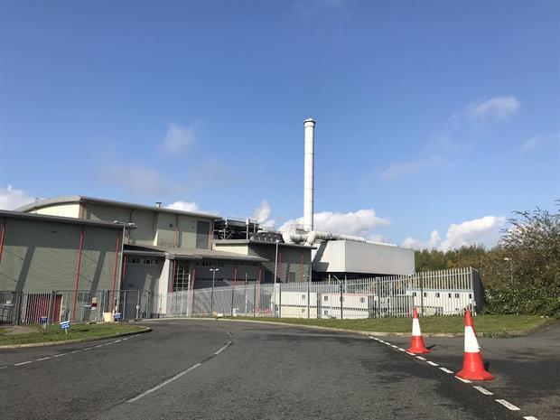 The EfW plant, image copyright endswasteandbioenergy.com