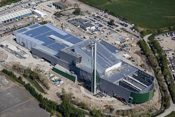 Viridor's 11th EfW plant in Avonmouth, image copyright Viridor
