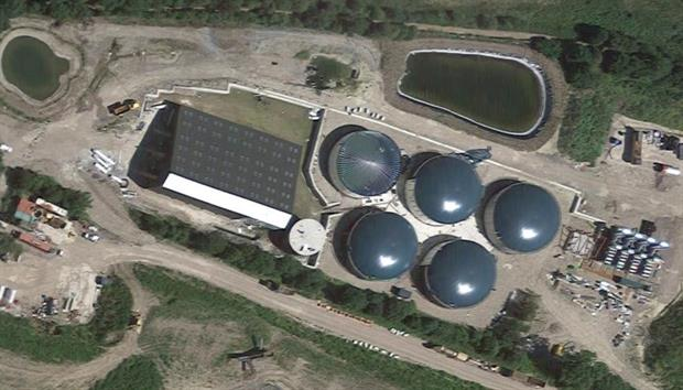 The plant that is to be expanded, image copyright google.co.uk