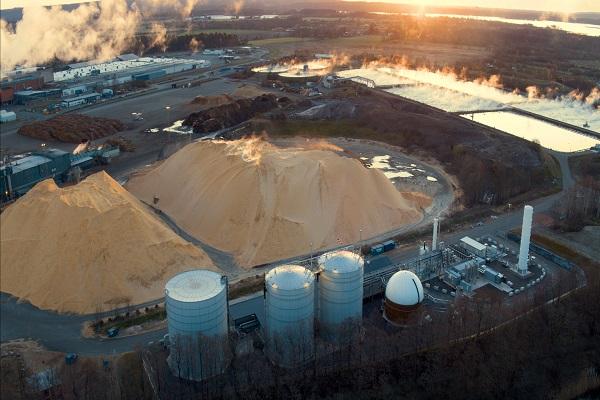 A Gasum biogas plant