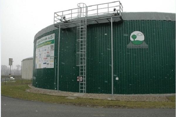 A biogas plant built by EnviTec