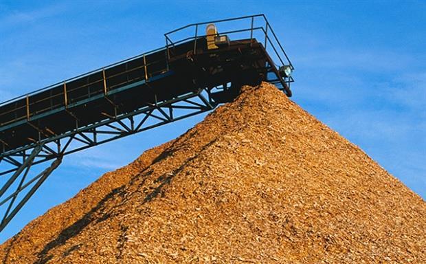 A biomass system, image B&W