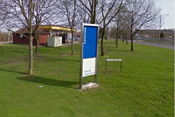 The plant is to be built on the Earlstrees industrial estate, image copyright google.co.uk