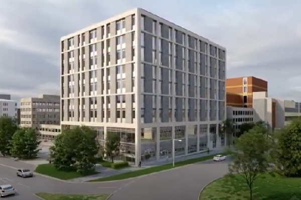 The energy centre will form part of Crawley's new town hall
