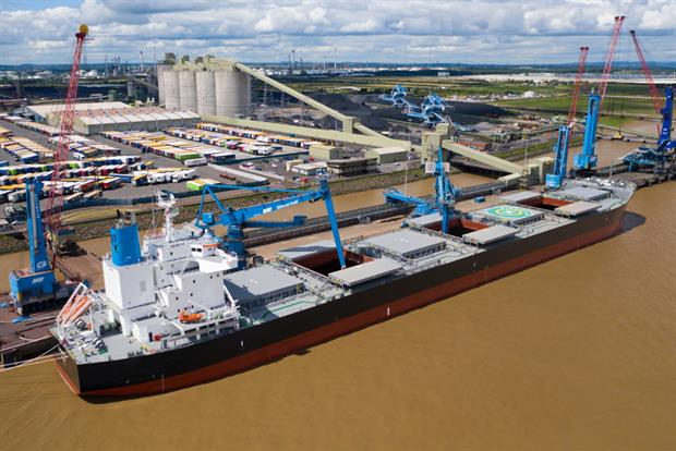 The expansion of Immingham Renewable Fuel Terminal means more jobs are available. Photograph: David Lee Photograph/ABP