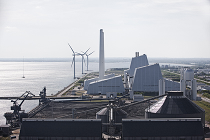 Denmark's largest power station Avedøre conveted to biomass last month