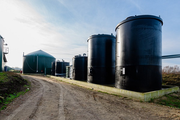 A Ductor built biogas plant in Germany