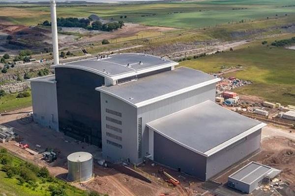 The Dunbar EfW plant, image copyright Viridor