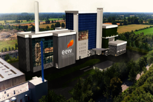 An artist's impression of the new EfW plant