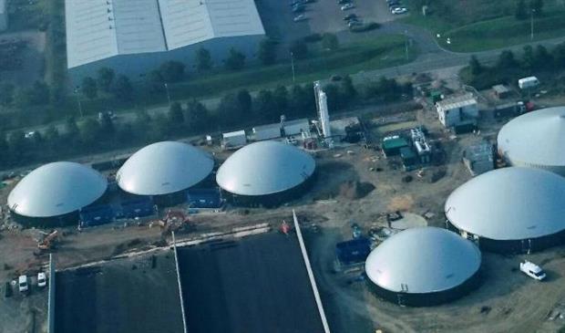 BioCow's Ellough-based biogas plant, image copyright BioCow