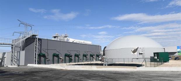 Engie's new biogas plant