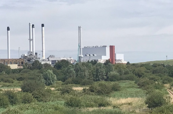 The site of the new plant next to the opertional K3 facility