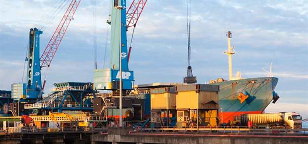 Immingham the UK's largest port in terms of tonnage