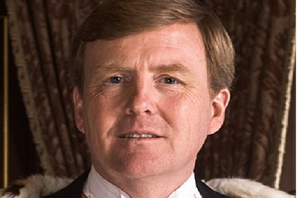 The king of the Netherlands Willem-Alexander
