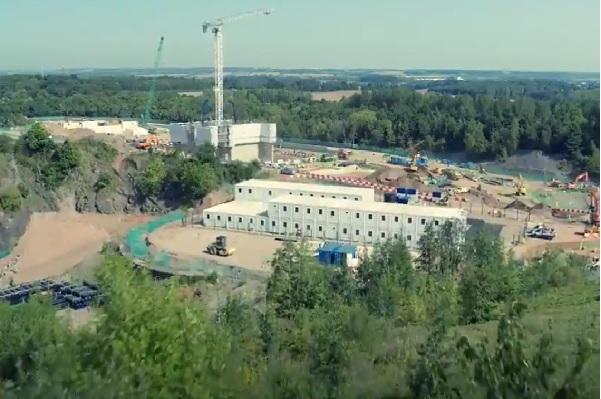 Biffa's Newhurst EfW plant is taking shape