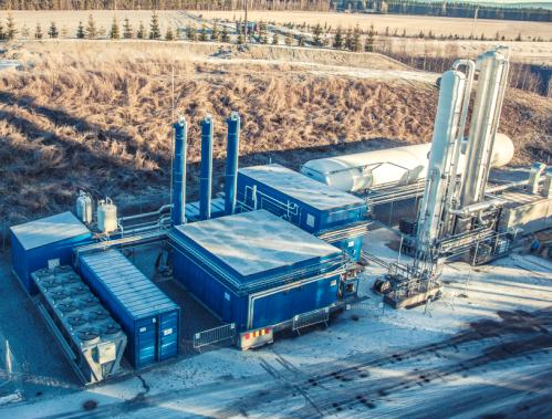 The Wärtsilä biogas liquefaction plant in Oslo, Norway