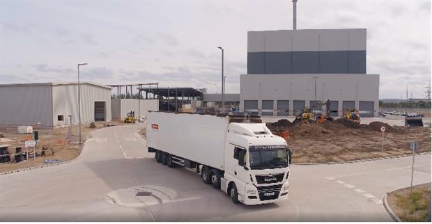 The EfW plant, image copyright WTI