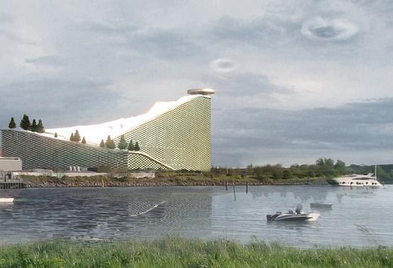Copenhagen's planned Amager Bakke EfW plant