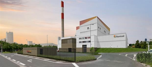 An artist's impression of how the over-hauled facility will look