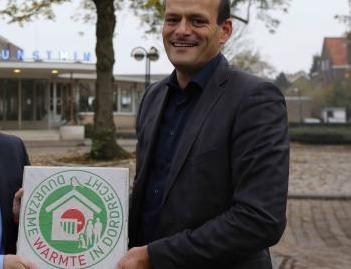 Mr van der Linden and the paving slab