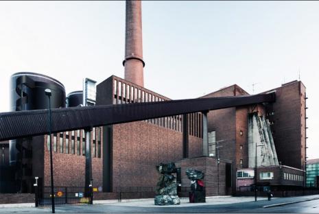 The Salmisaari biomass-fired plant opened last year