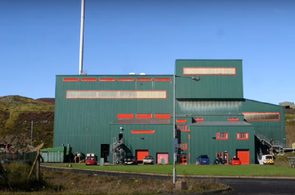 The Shetland-based EfW plant will take some of the waste