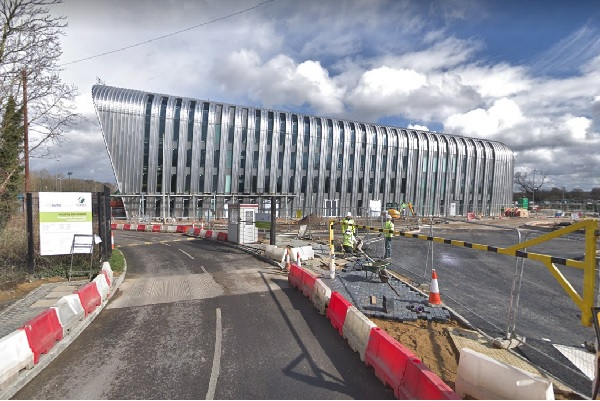 The EfW plant pictured during constrution, image copyright google.co.uk