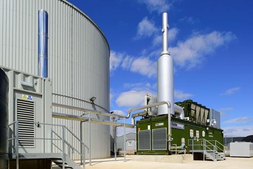 The biogas plant, image copyright Tamar Energy