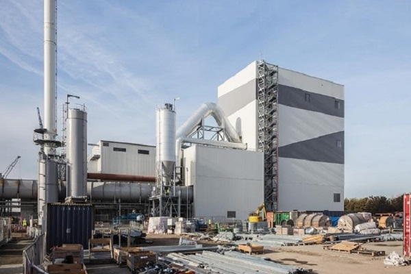 The waste wood-fired plant, image copyright AET