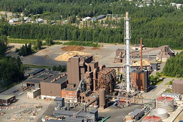 The Joensuu biomass plant