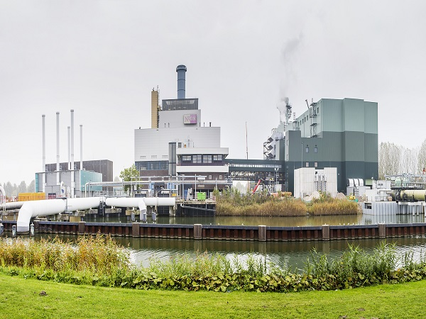 The gas-fired plant, image copyright Vattenfall
