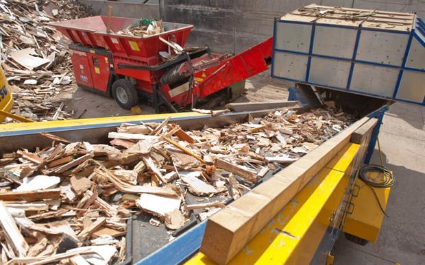 Waste wood, photo WRA