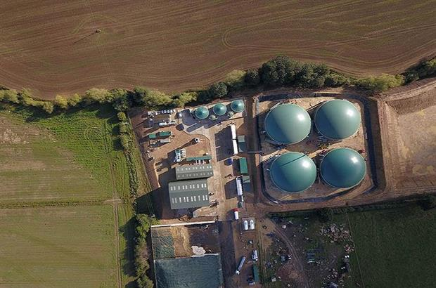 The biogas plant, image copyright Weltec