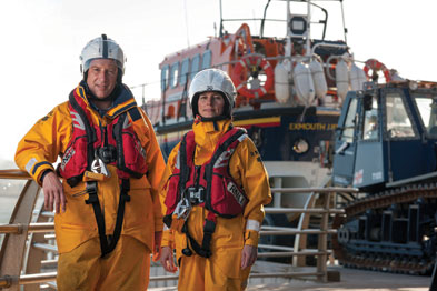 Drs Peter and Jane Aitken: 'Working with RNLI is close knit and supportive experience'