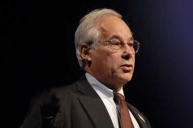 Don Berwick: aims to make 'zero harm' a reality in the NHS (photo: Solent News)