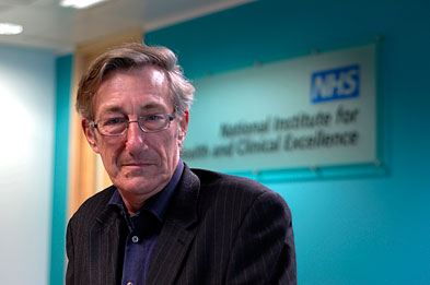 Professor Sir Michael Rawlins: 'GPs are capable of doing this. They will be in a better position to implement guidance.'