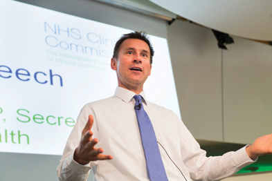 Mr Hunt: contract changes may be needed to make named GPs responsible for all care their patients receive