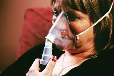 COPD patients were treated with azithromycin for a year (Photograph: SPL)