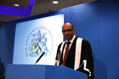 Professor Lakhani wants to see a 'comeback' for clinical excellence