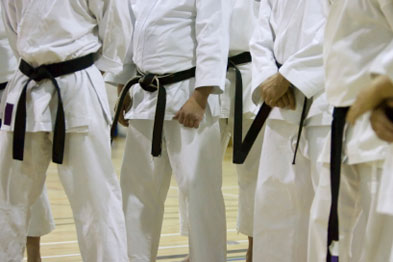 Research found martial arts techniques reduced hip impact forces (Photograph: iStock)