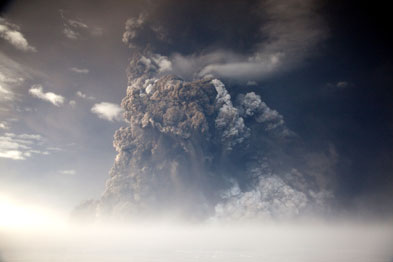 Volcanic ash can trigger asthma symptoms like coughing (Photograph: Getty)