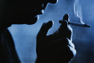 Smoking: restricting choice undermined patients' faith in treatment, making it harder to quit (Photograph: SPL)