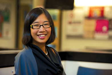 Dr Eugenia Lee: NHS is not about firefighting, but prevention (photo: JH Lancy)