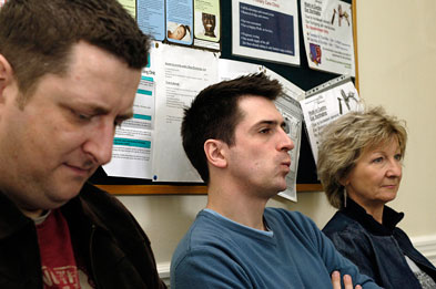 Waiting room: Patients at Camden practice forced to move