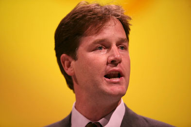 Nick Clegg: manifesto gives patients right to choose their GP