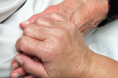 Elderly: helping GPs deal with end-of-life care can save the NHS money (Photograph: SPL)