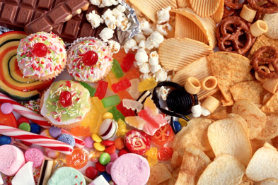 Researchers found a link between sugary food intake and insulin resistance in later life (Photograph: SPL)