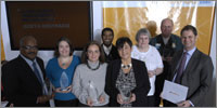 Winners of the NHS Champions Awards 2008 (photograph: Neil Spence)