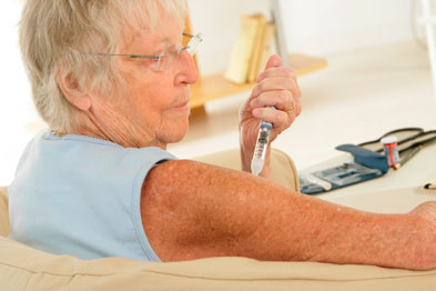 A review of patients diagnosed with diabetes will need to be done in practices (Photograph: SPL)